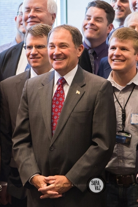 Utah Event Photographer | Utah Portrait Photographer | ASCE Event | Civil Engineers | Governor Gary Herbert | Utah
